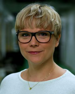 Karin Nygårds - lärare F–9 och författare. © Foto: Erik Amkoff/UR Får endast användas i UR-sammanhang